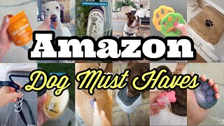 TikTok Compilation    Amazon Must Haves for Dogs and Puppies! With LINKS!