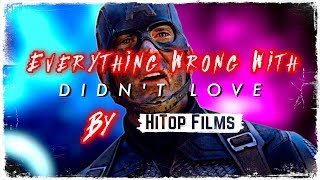 Everything Wrong With I Didn't Love Avengers Endgame By HiTop Films