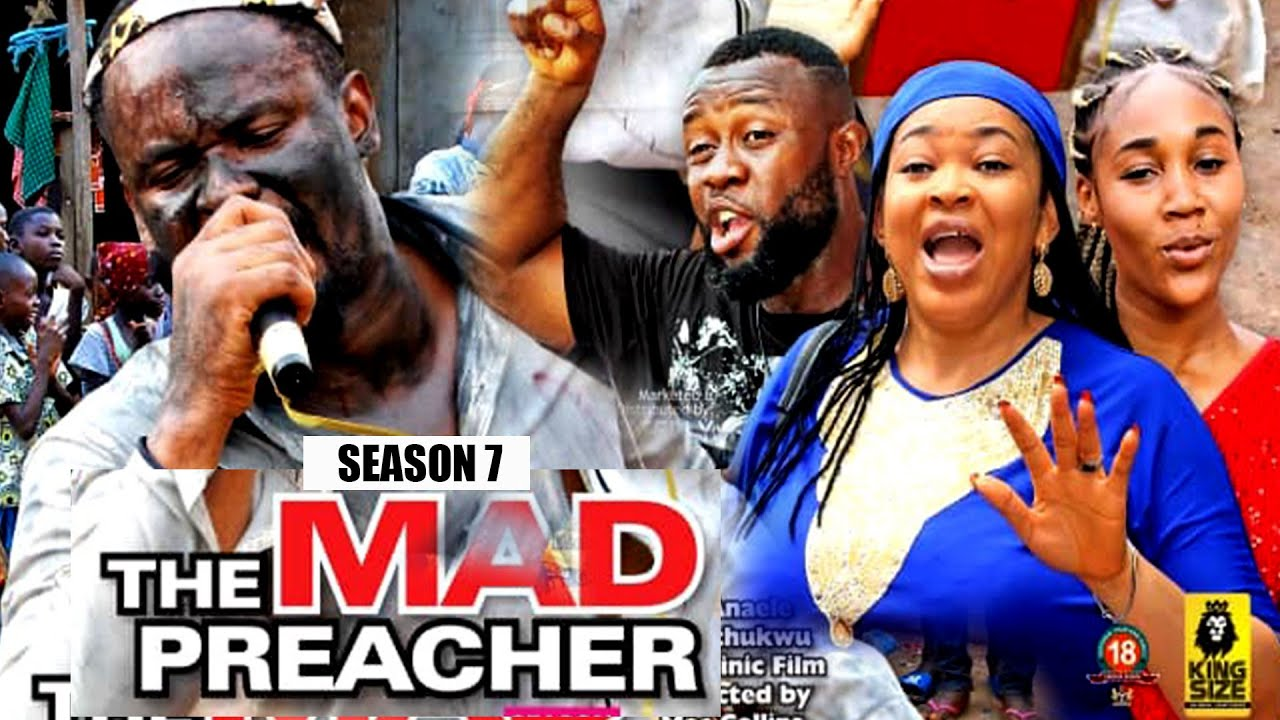 Download MAD PREACHER (SEASON 7) - ZUBBY MICHEAL 2021 NOLLYWOOD BLOCKBUSTER || ROCKCELLY TV