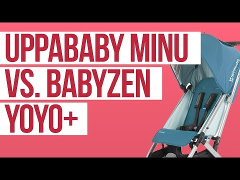 UPPAbaby Minu 2018 vs. Babyzen Yoyo+ Stroller Comparison | Ratings, Reviews, Prices