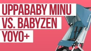 UPPAbaby Minu 2018 vs. Babyzen Yoyo Stroller Comparison Ratings, Reviews, Prices