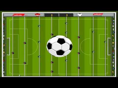 Flash игра футбол Gameplay