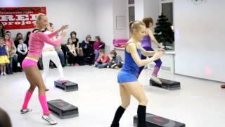 Dance- step аэробика, тренер Очкасова Ольга