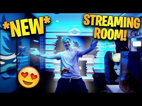 Ninja Reveals His *NEW* Streaming Room! *INSANE* | Fortnite Highlights & Funny Moments