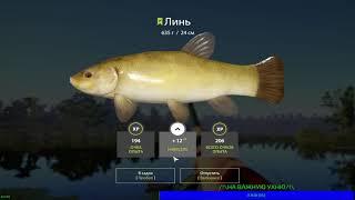 СТАРЫЙ ОСТРОГ КЛЮЕТ ЛИНЕК Русская Рыбалка 4
