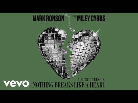 Mark Ronson - Nothing Breaks Like a Heart Acoustic   ft Miley Cyrus