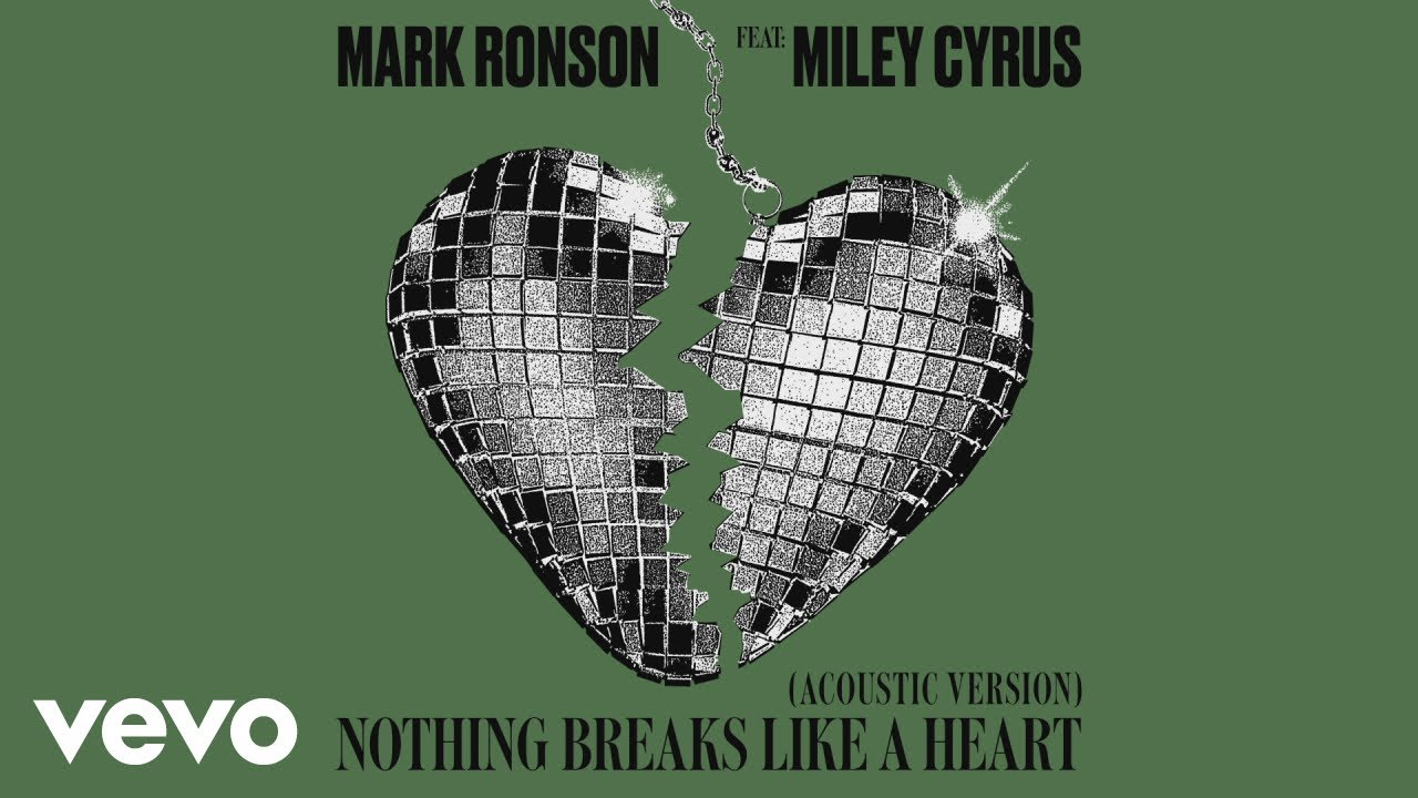 Mark Ronson - Nothing Breaks Like a Heart (Acoustic Version) [Audio] ft. Miley Cyrus image