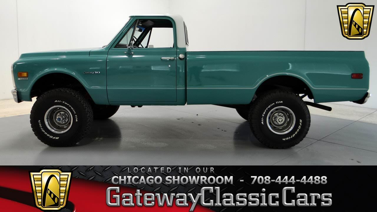 1971 Chevrolet K10 Custom 4x4 Gateway Classic Cars Chicago