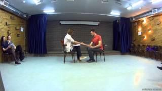 Яна и Павел. 1 репетиция отрывка