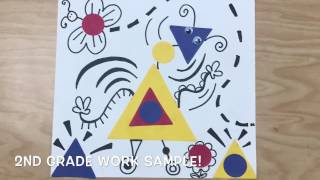 ART FOR KIDS : JOAN MIRO AND KIETH HARING CREATURE