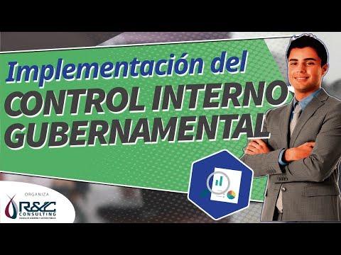 Control Interno Gubernamental - ¿Cómo implementarlo?