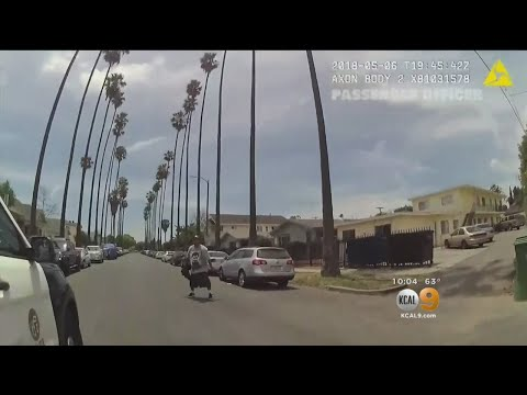 LAPD Releases 17-Minute Video Of Fatal OIS Last Month