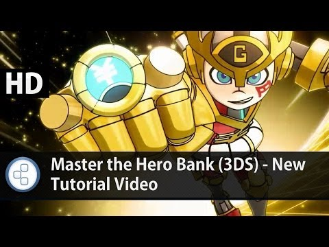 Master the Hero Bank (3DS) - New Tutorial Video