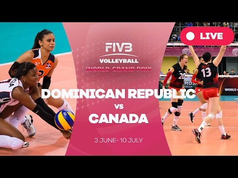 Dominican Republic v Canada - Group 2: 2016 FIVB Volleyball World Grand Prix