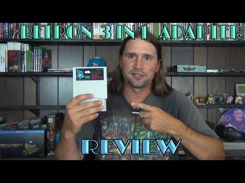 VGH Review - Retron 3 In 1 Adapter