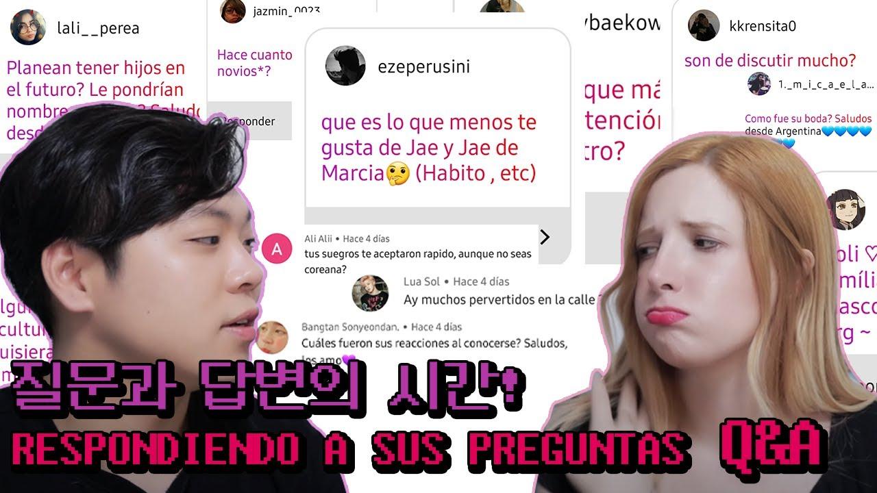 [국제커플] 만명기념 Q&A시간! 궁금한 것 모두 알려드립니다! | 아르헨티나 여자