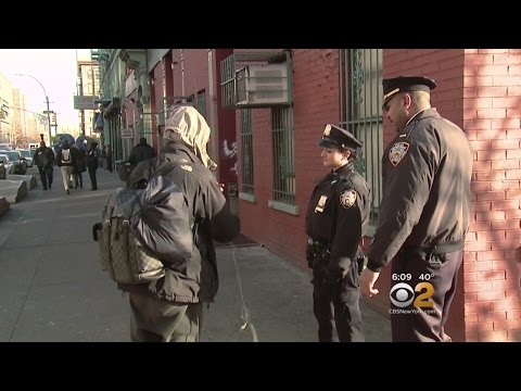 CBS2 Exclusive: Behind The Scenes At New NYPD Homeless Outreach Program
