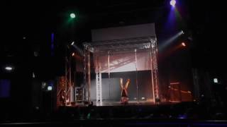 Coral Felix - Authentic Pole Dance Competition 2016 - Professional