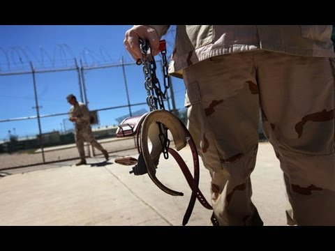 Guantanamo Bay hunger strikers treated like animals, says la