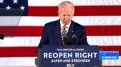 Joe Biden Hilariously Runs Out of Steam During Speech