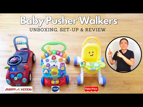 Baby Walker Comparison - Radio Flyer, Vtech, & Fisher-Price