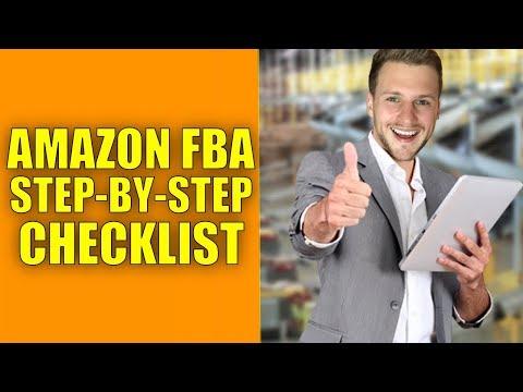Amazon FBA Step by Step Checklist 2017 - Amazon FBA UK