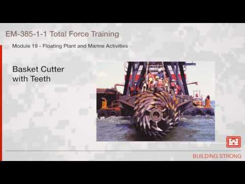 NAVFAC Safety Training Module 19: Floating Plant & Marine Activities