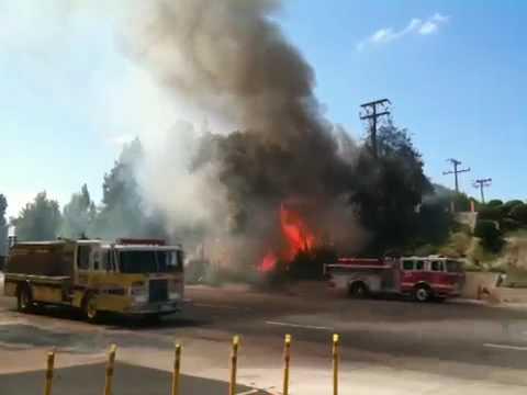 Fire in Thousand Oaks, CA