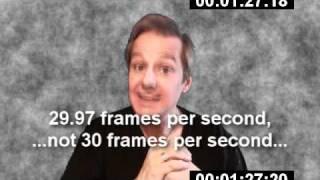 Time Code: Drop Frame vs. Non-Drop Frame