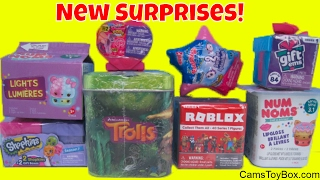 Roblox Toys Trolls Surprise Tin Num Noms Lights 3 My Little Pony Squishy Pop Shopkins Gift Boxes 7