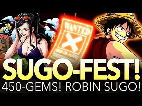 450 GEMS! ROBIN SUGO-FEST! (One Piece Treasure Cruise - Global)