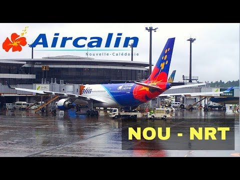 FLIGHT REPORT / AIRCALIN AIRBUS A330-200 (ECONOMY) / NOUMEA