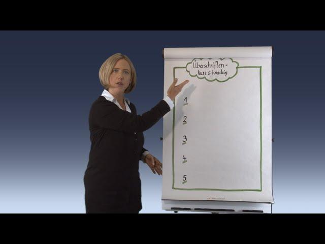 Flipcharts einsetzen: Profi-Tipps für anschauliche und einprägsame Flipcharts