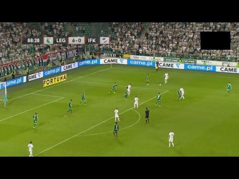 Legia Warszawa - IFK Mariehamn 6-0 CAŁY MECZ
