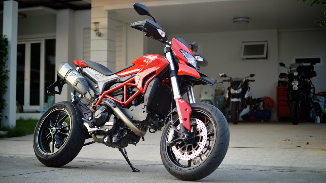 hypermotard 821 with termignoni full race exhaust youtube