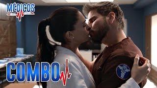 Médicos, línea de vida - C-56: Regina y David se besan | Las Estrellas
