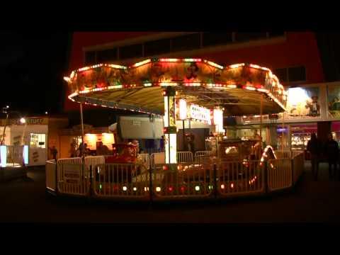 Skegness at Night Amusement Park