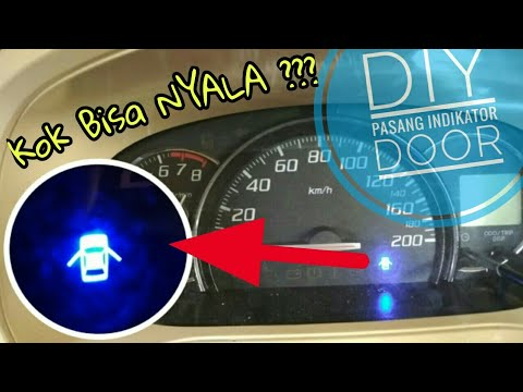 Indikator Grand New Avanza Model 2015 Pasang Lampu Pintu Part 1 Youtube
