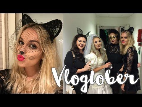 Gleam Halloween #AsDarknessFalls party & The Lush Spa | Vlogtober Week 3