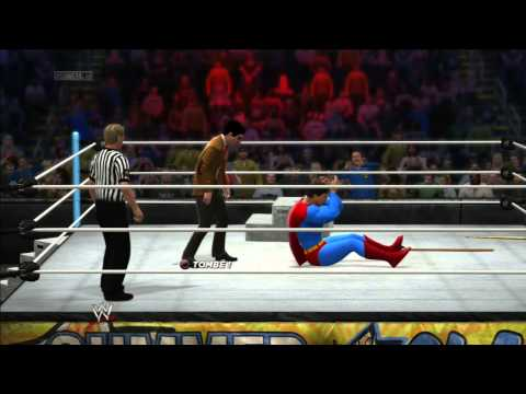WWE 2K14 !!! Mr Bean Vs Superman Part.1