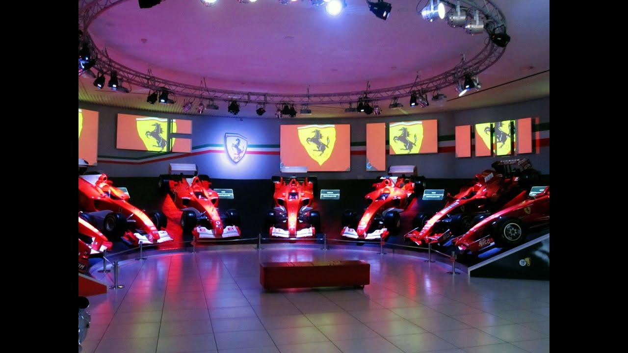hall of victories, museo ferrari maranello, maranello, modena