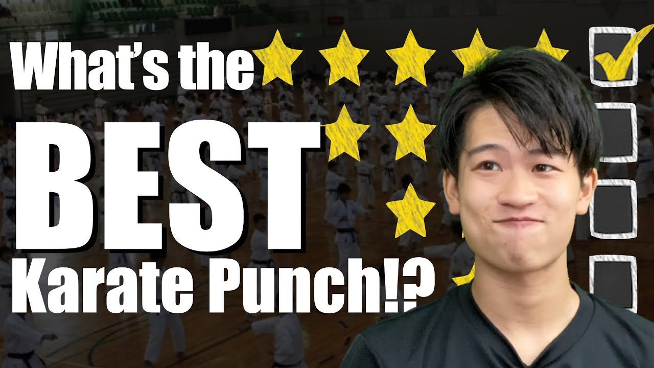 RANKING Karate Punches in Kumite! The Best Punch to Train Is...