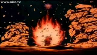 Goku vs Vegeta (Kamehameha vs Galick Gun) (Original Dub)