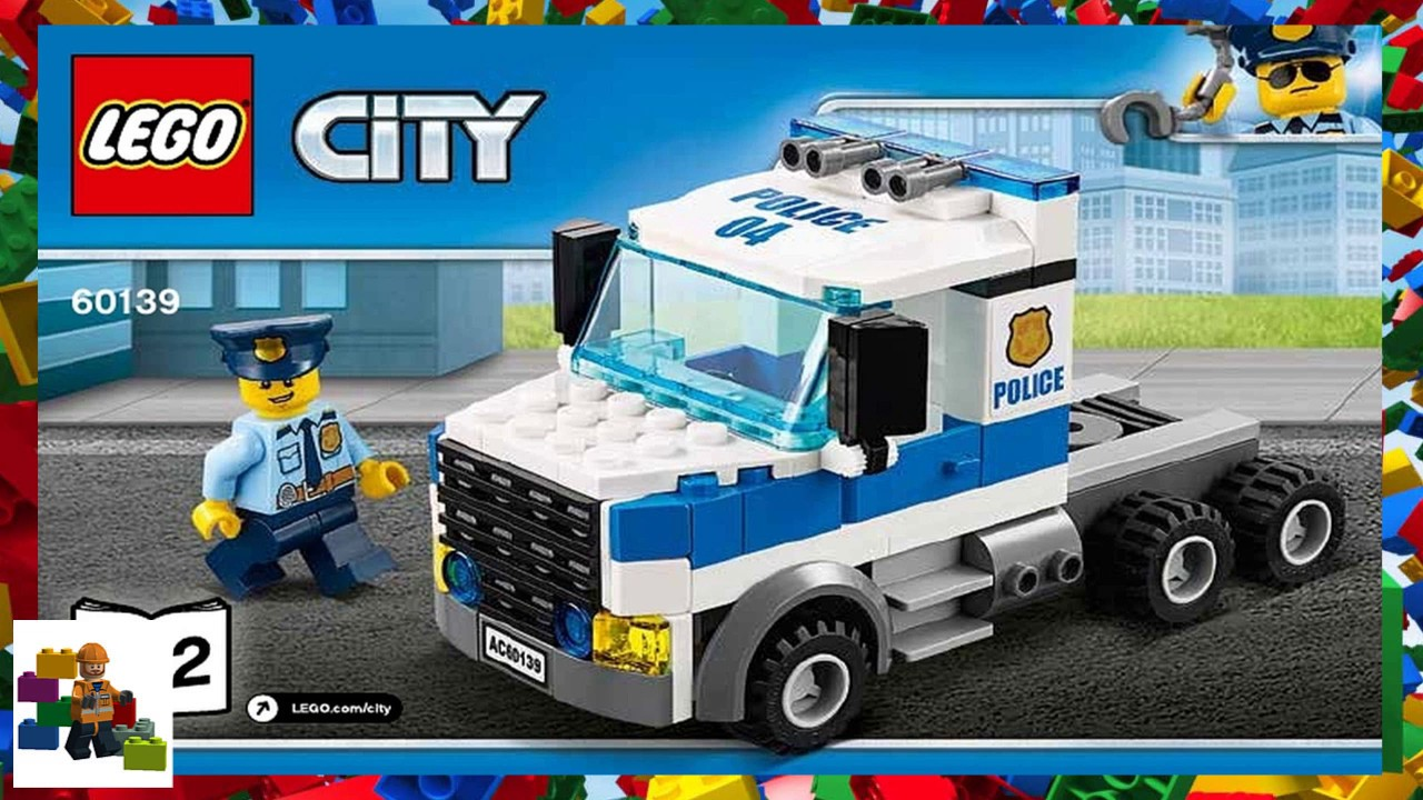 Lego Instructions City Police 60139 Mobile Command Center Book 2 Youtube