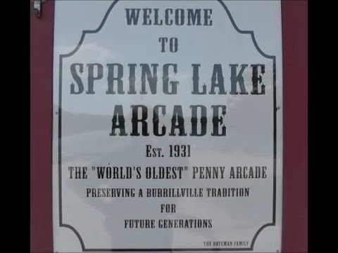 Spring Lake Arcade, oldest amusement arcade in the USA