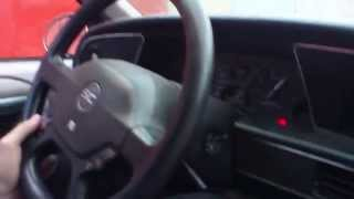 1989 Ford Thunderbird SC test drive Russia