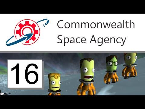 Kerbal Commonwealth Space Agency - 16. Frozen in Time (KSP 1.0.4)