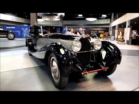 The Art of Bugatti at the Mullin Automotive Museum.