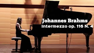 Brahms. Intermezzo in E Major (Seven fantasias op. 116 N. 4) I Anna Khomichko