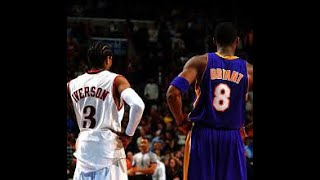 Kobe vs AI pushing each other to greatness